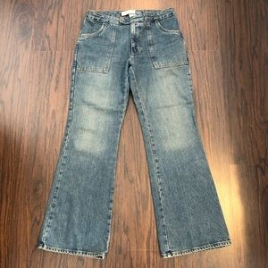 Gap jeans flare ankle size 4